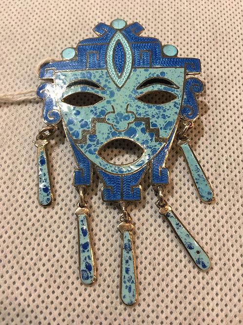 Aztec Brooch