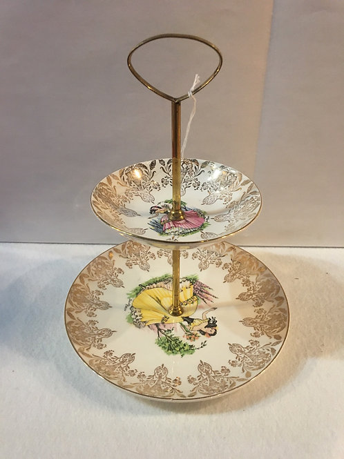 Royal Falconware cake stand