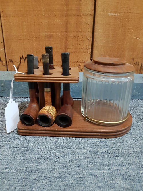 Pipe stand and Humidor