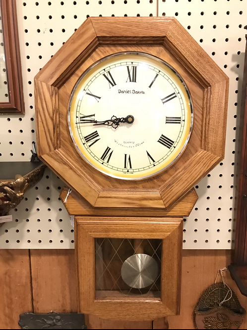 Daniel Dakota Pendulum Wall Clock
