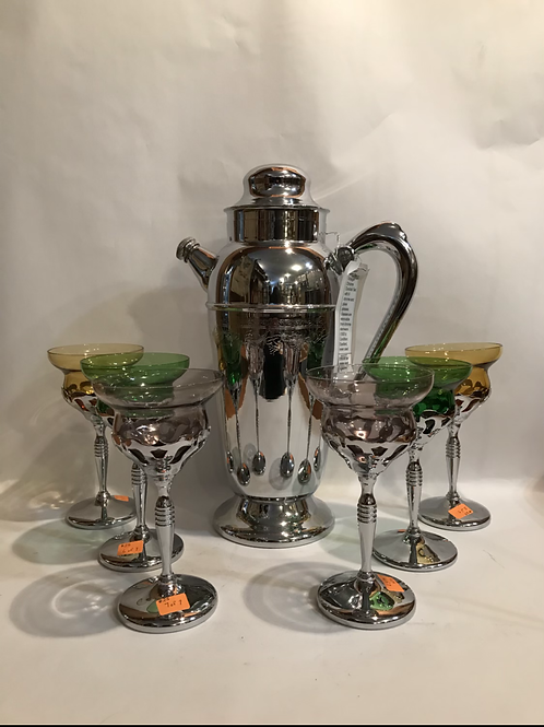 Chrome Cocktail  Set