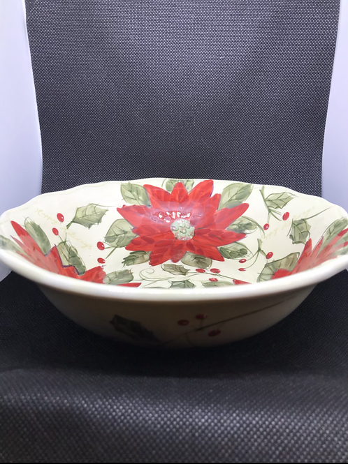 Gibson Hand Painted Bowl - Set of 3