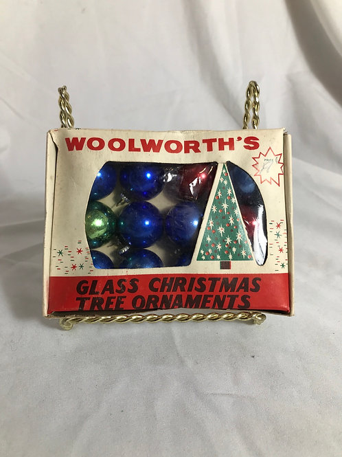 Woolworth's tree ornaments