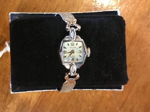 Lady's White Gold Sylvan Watch V48