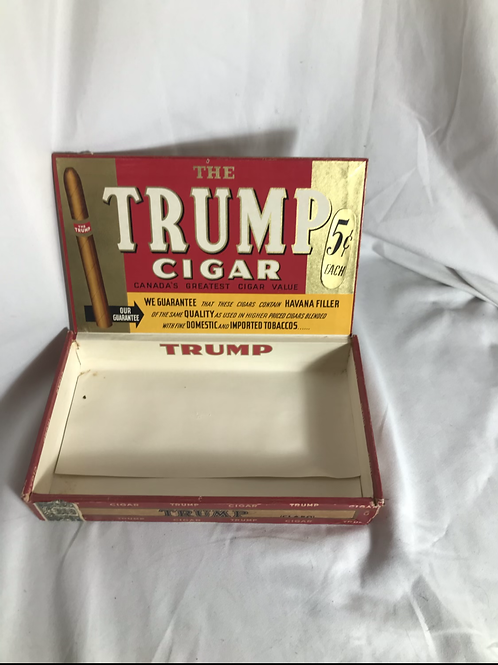 The Trump Cigar Box