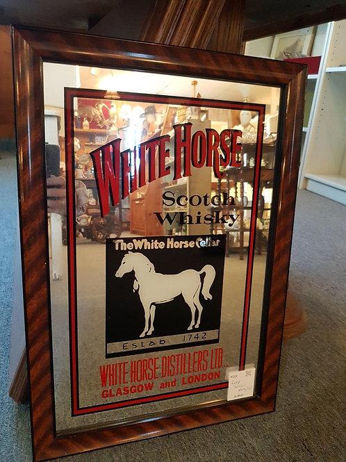 White Horse mirror