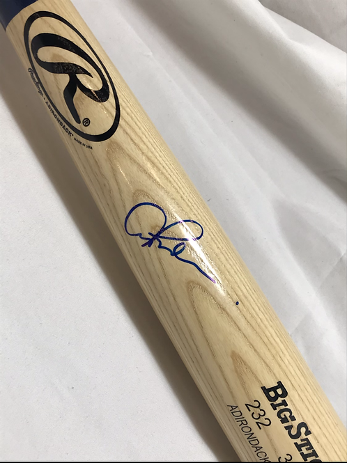 Alex Rodriguez Signed Baseball Bat