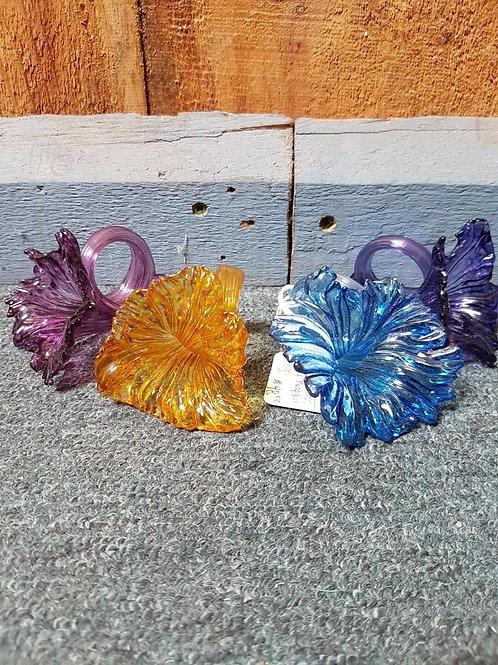 Murano glass napkin holders