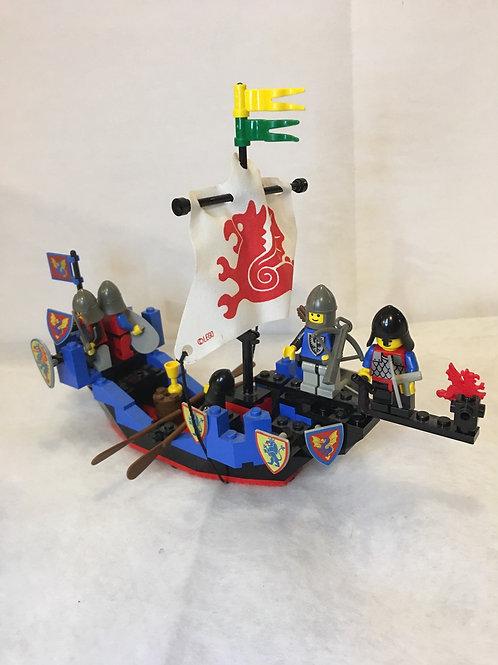 Lego Black Knights Sea Serpent  Boat