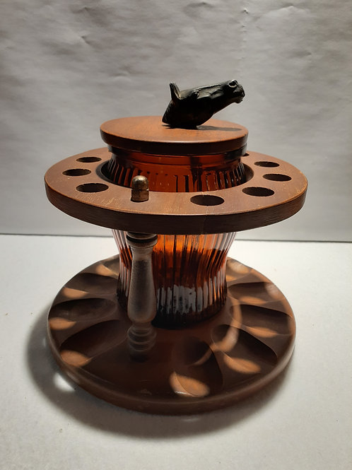 Pipe Holder with Humidor