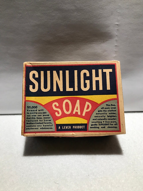 Boxed sunlight soap