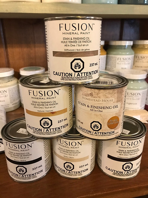 Fusion Stain and finishing Oil