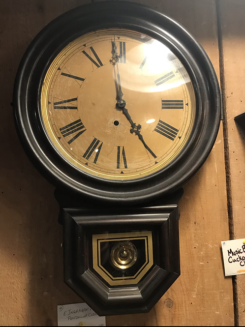 E. Ingraham & Co. Pendulum  Clock
