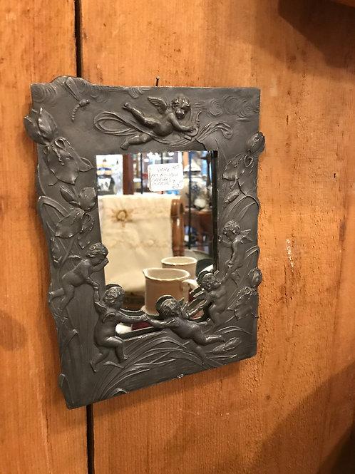 Art Nouveu Cherub Mirror