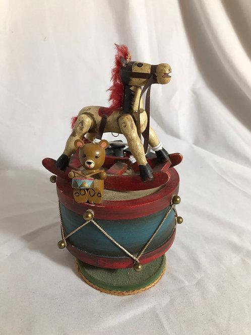 Enesco Rocking horse music box