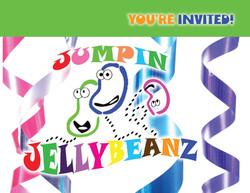 JJ Birthday Invite front