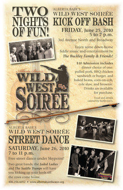 ABT Wild West Soiree Poster