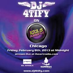 KISS FM Chicago Flyer SQUARE