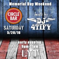 Memorial Day Weekend 16 d