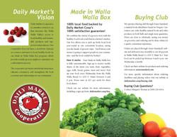 Daily Market Co-op Brochure inside