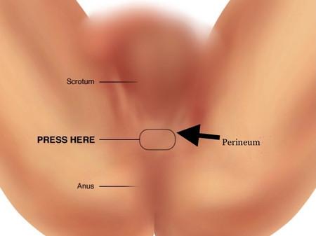 External Prostate Massage