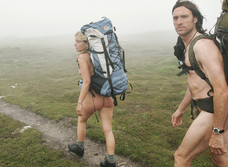 Why not embrace naturism while on a hike out there in nature?