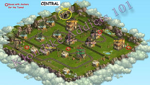 Klondike Central Map