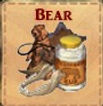 Bear Set: Tooth, Fat, Jaw, Leather, Statue