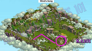 Wind's Song map