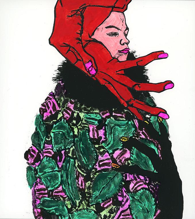 Verena Prenner Egon Schiele Gustav Klimt Portrait