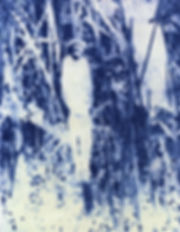 Blind_Snake Rudolf_Grauer Verena_Andrea_Prenner Verena_Prenner African_Explorer Stereotypes Art_Photography Uganda Congo Lake_Tanganyika Letheobia_graueri Naturehistorical_Museum_Vienna Zoological_Museum_Berlin Collages Cyanotype Cyanotypie Kunst Naturhistorisches_Museum_Wien Zoologisches_Museum_Berlin
