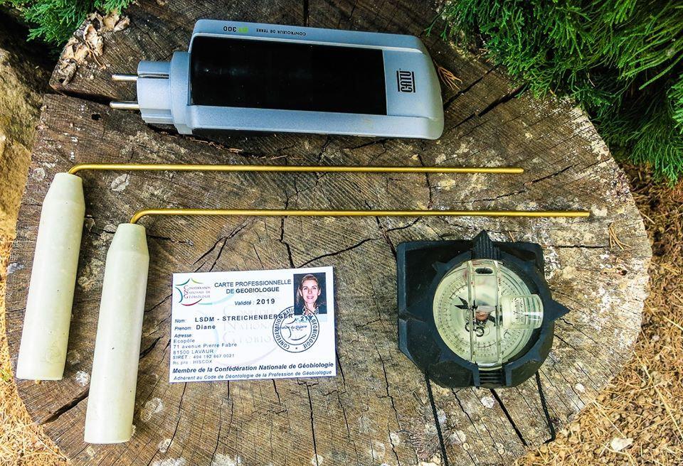 Diane streichenberger outils du géobiologue