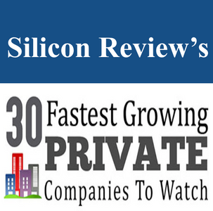 """We are recognised among """"30 Fastest Growing Private Companies to Watch 2017"""" by Silicon Re"""