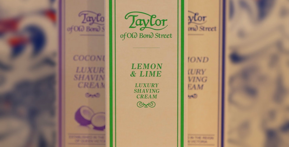 Taylor of Old Bond Street Lemon & Lime Shaving Cream 75ml
