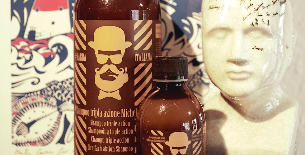 Barba Italiana Tripla Azione Michelangelo Shampoo 250ml
