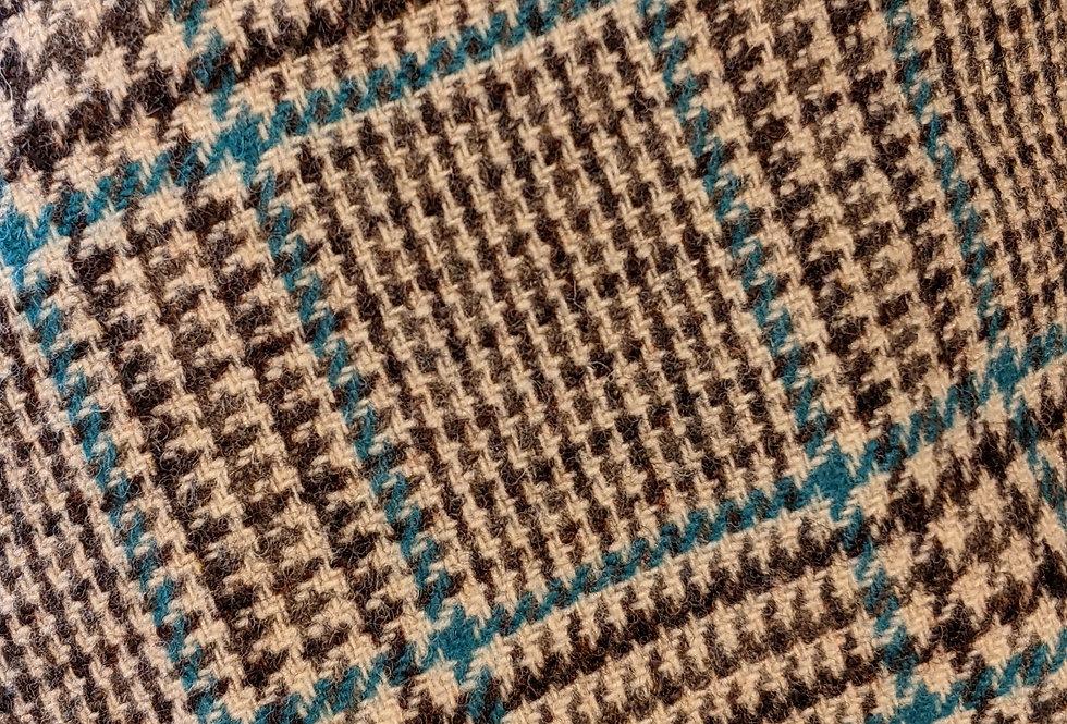 Sussex Tweed Ashdown Cap Vintage 1960s Prince of Wales check Tweed