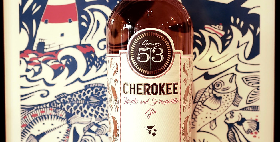 Corner 53 : Cherokee Gin 70cl
