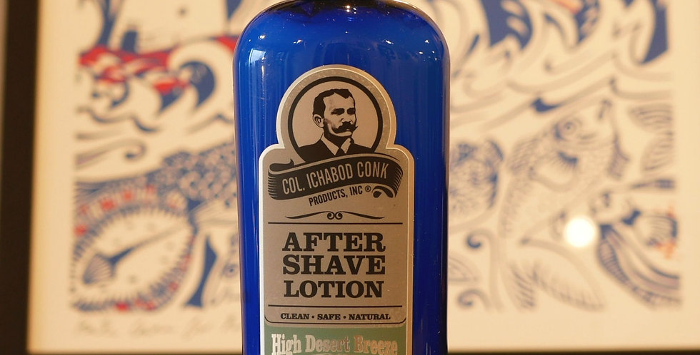 Colonel Conk's Natural After Shave Lotion - Various scents 180ml