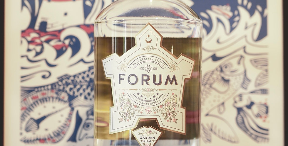 Portsmouth Distillery Forum Garden Rum