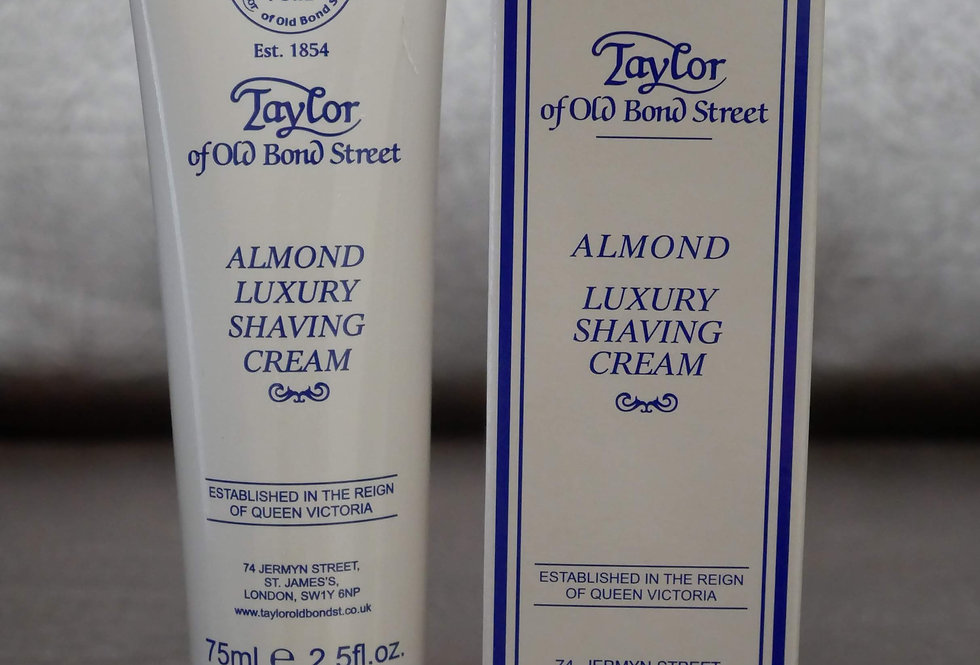 Taylor of Old Bond Street Almond Shaving Cream 75ml