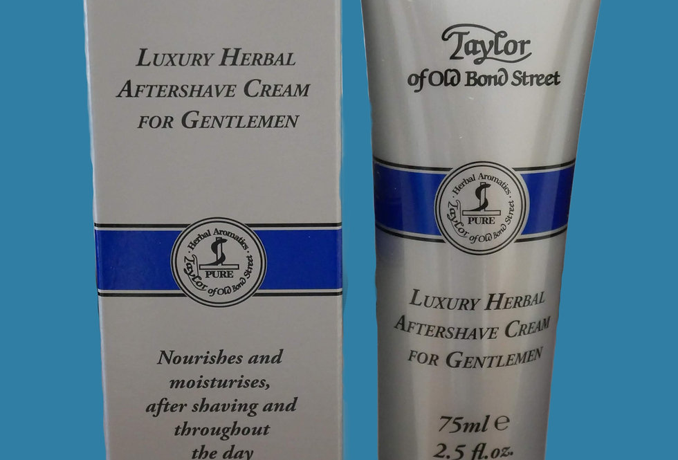 Taylor of Old Bond Street Herbal Aftershave Cream 75ml