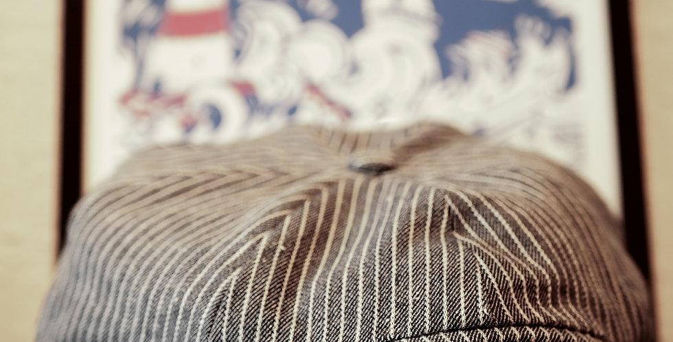 Sussex Tweed: Linen Winchelsea Cap