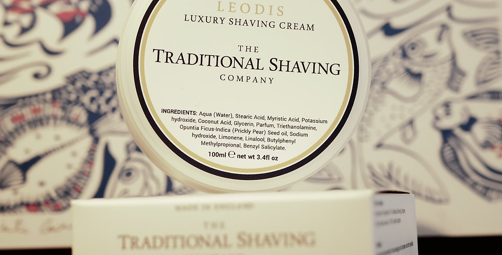 Traditional Shaving Company Leodis Shaving Cream