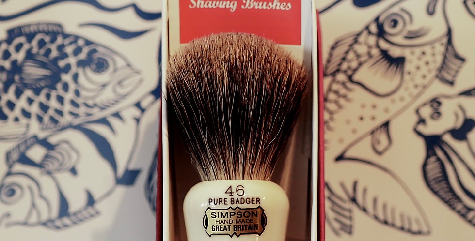 Simpson Berkeley Pure Badger Shaving Brush