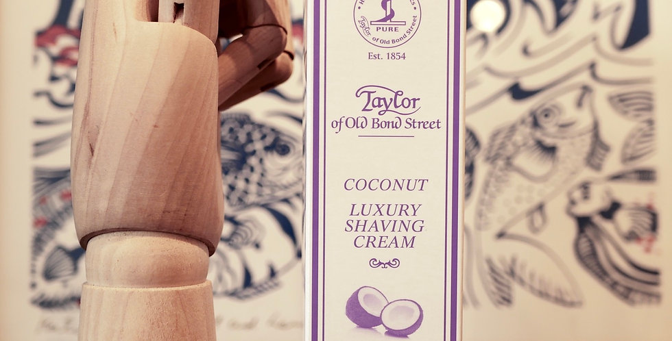 Taylor Of Old Bond Street Coconut Shaving Cream 75ml