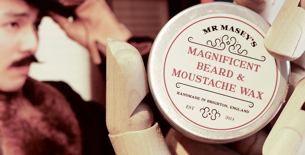 Mr Masey's Magnificent Beard and Moustache Wax
