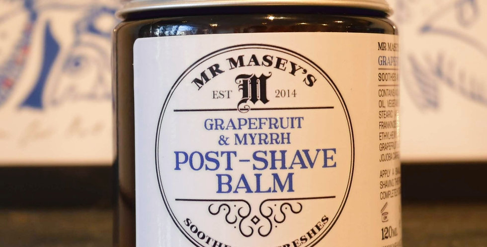Mr Masey's Post-Shave Balm