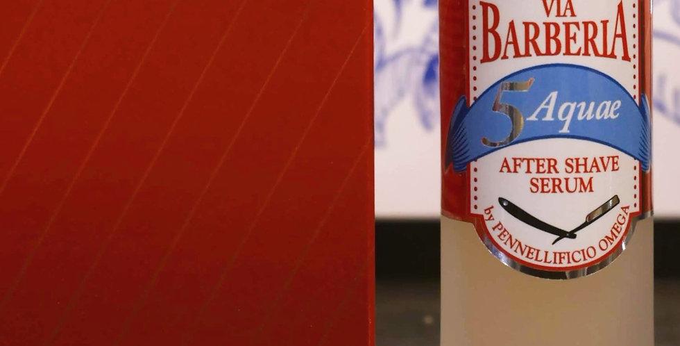 Omega Via Barberia Acquae Aftershave Fluid Cream 50ml