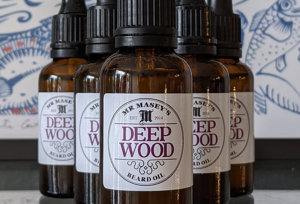 Deep Wood Beard Oil
