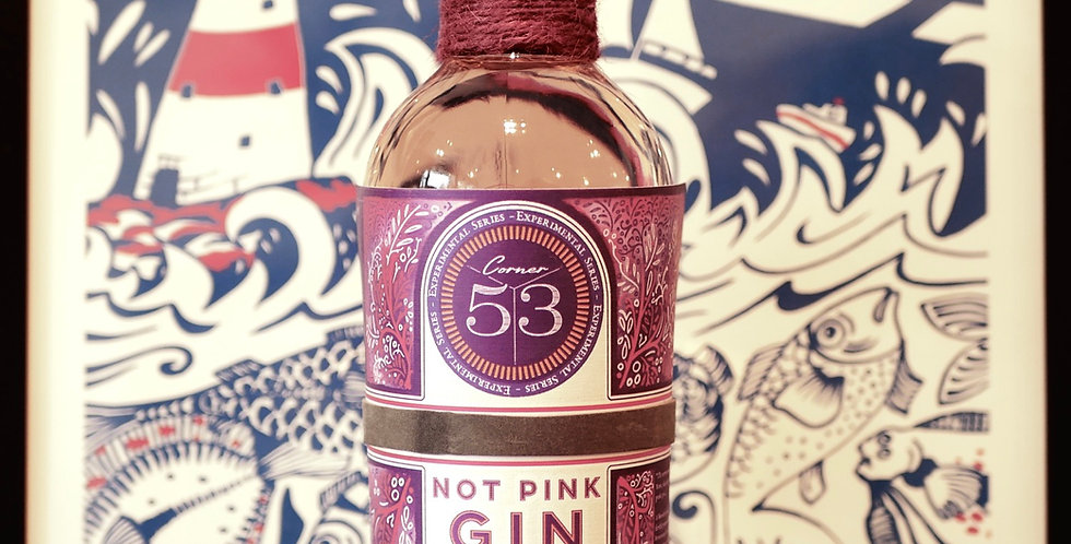 Corner 53 : Experimental Series : Not Pink Gin 50cl